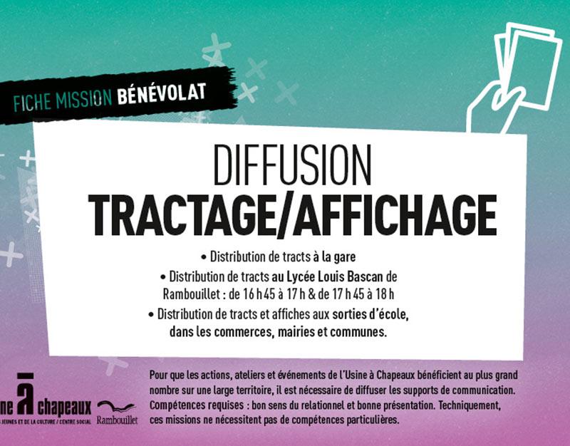 Bénévole tractage/diffusion