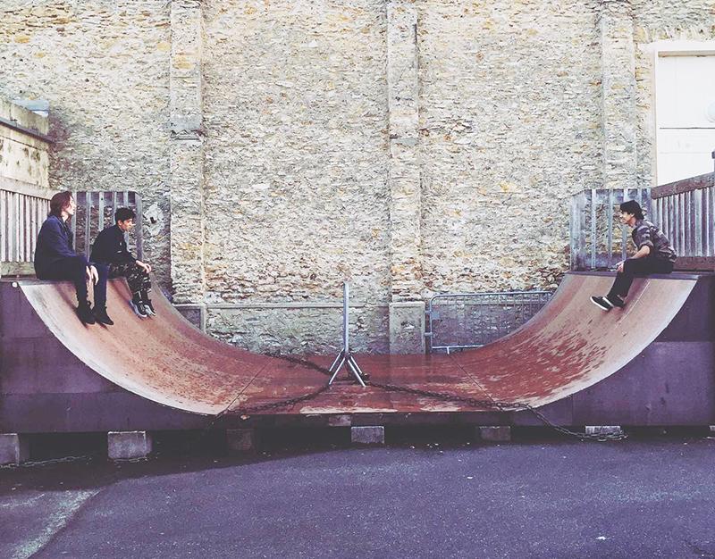Half Pipe à Rock en Seine !