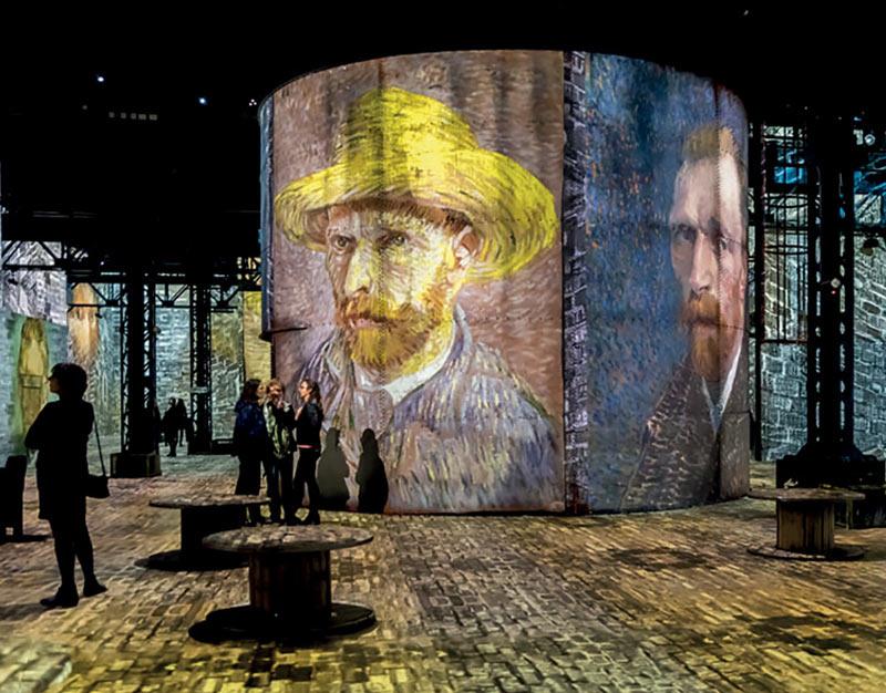 Atelier des lumières / « Monet, Renoir… Chagall. Voyages en Méditerranée »