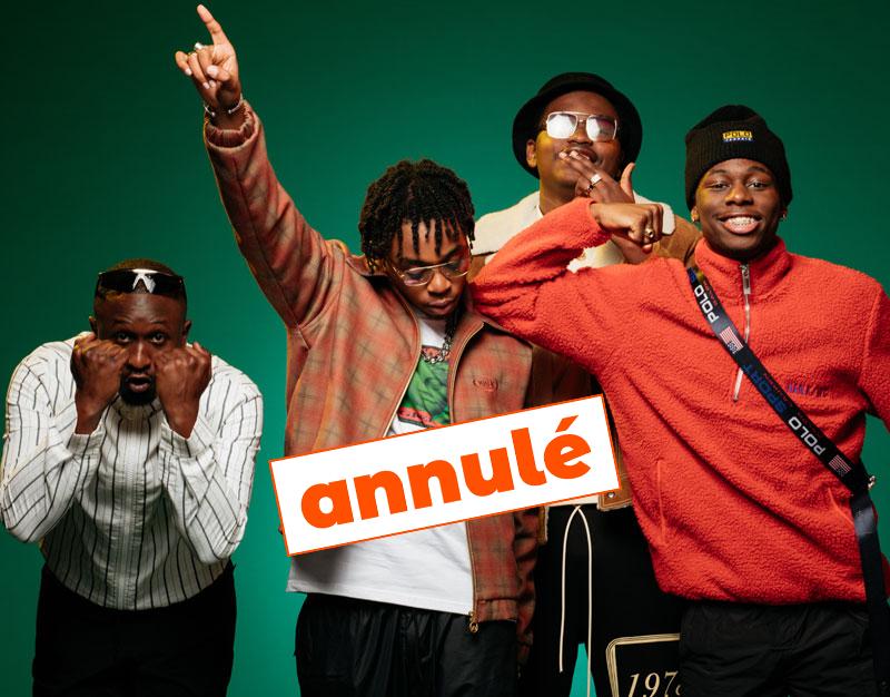 ANNULÉ /// 4keus + Jewel Usain