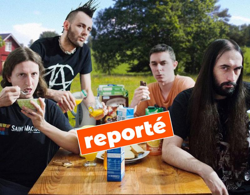 Ultra Vomit à La Lanterne /// EN COURS DE REPORT