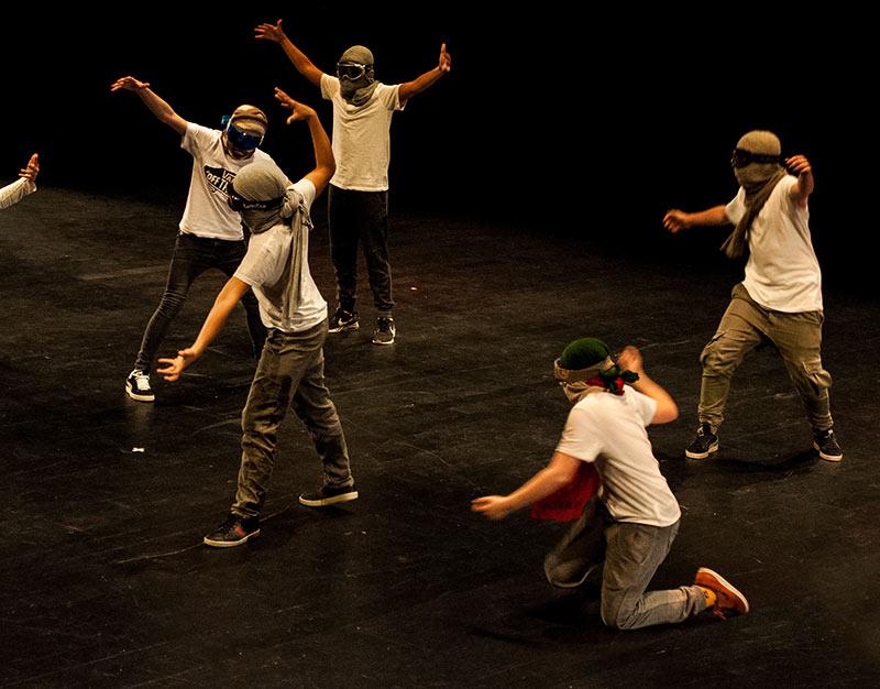 Hip-hop : danse debout
