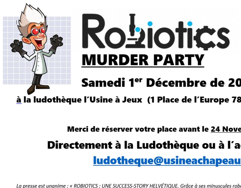 Murder Party à la ludothèque !